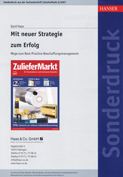 Best-Practice-Beschaffungsmanagement